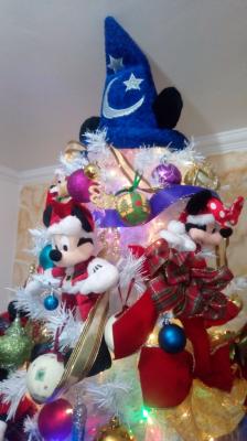 arvore de natal Mickey Disney