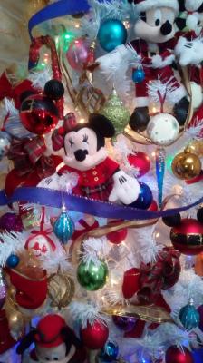 Arvore de natal mickey decorada