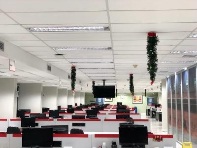 Decoração de natal teto - Aluguel decoração de natal