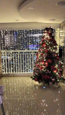 Decoração natal varanda - Aluguel decoração de natal