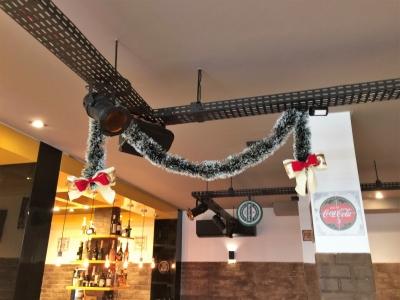 Decoração de natal bar - Aluguel decoração de natal