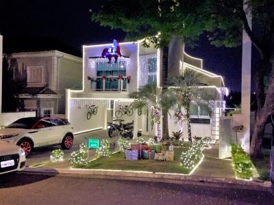 Decoração de natal residência - Aluguel decoração de natal