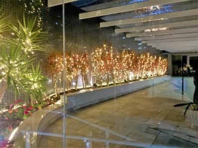 Decoração de natal entrada prédio - Aluguel decoração de natal