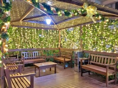 Decoração de natal coreto praça - Aluguel decoração de natal