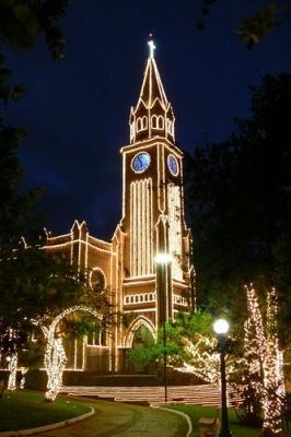 Decoração de natal igreja matriz - Aluguel decoração de natal