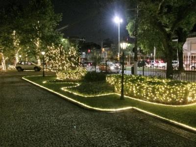 Decoração de natal jardins praça- Aluguel decoração de natal
