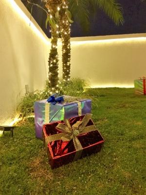 Decoração de natal jardim- Aluguel decoração de natal