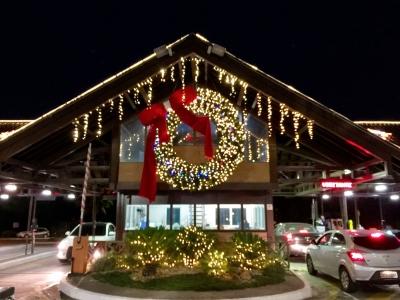 Decoração de natal portaria- Aluguel decoração de natal