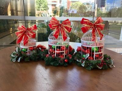 Decoração de natal mesa- Aluguel decoração de natal