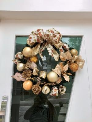 Decoração de natal guirlanda - Aluguel decoração de natal