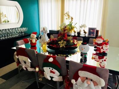 Decoração de natal mesa de jantar - Aluguel decoração de natal