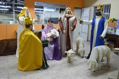Presépio de Natal - Aluguel decoração de natal