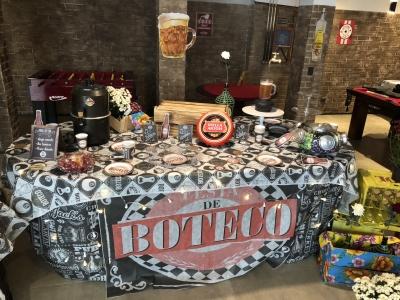 Festa de Boteco - Aluguel decoração festa de boteco.