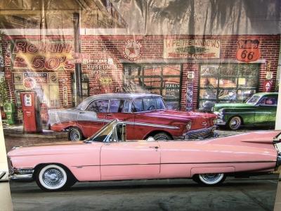 Festa Carros Vintage - Aluguel decoração festa carros vintage.