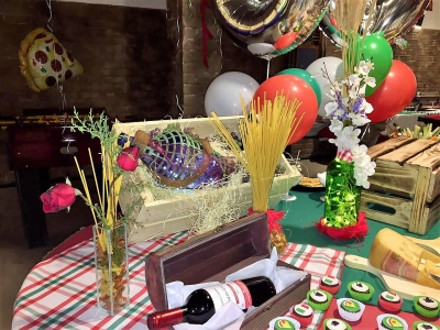 Festa Italiana - Aluguel de decoração festa italiana